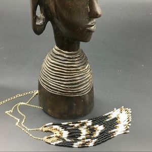 NWTS-Indigenous-looking NORDSTROM Beaded Necklace